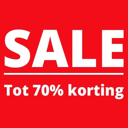 Outlet: tot 70% korting