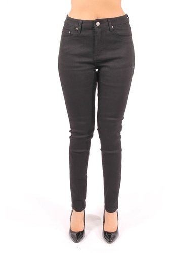 High Waist Jeans Zwart (Miss Anna)