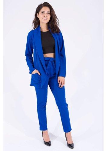 2-delig Set Blauw