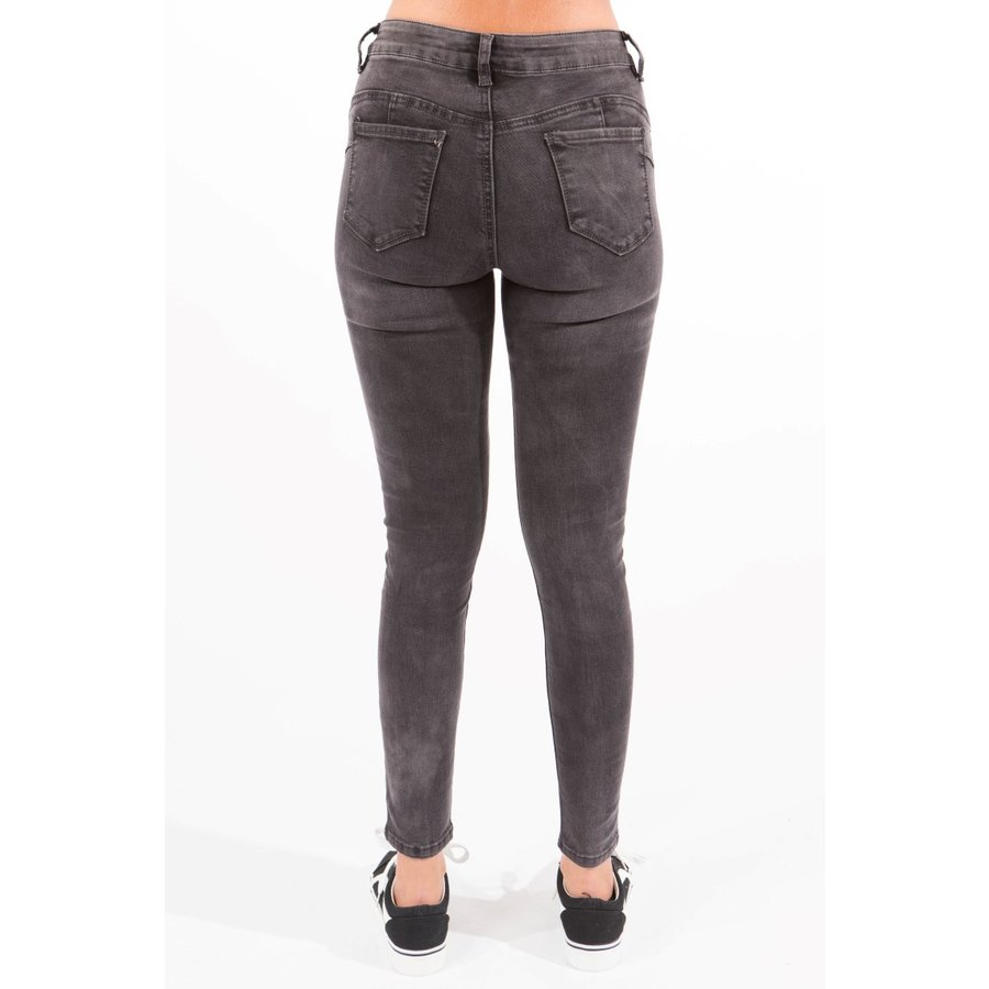 Low Waist Jeans Grijs