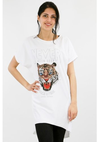 Oversized Shirt Wit