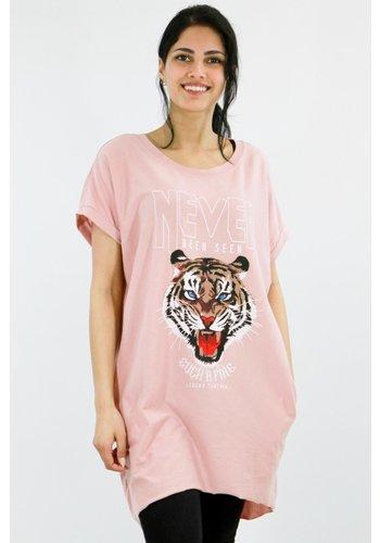 Oversized Shirt Roze