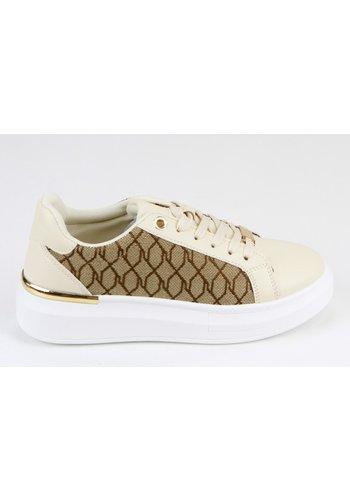 Sneakers Beige 8591