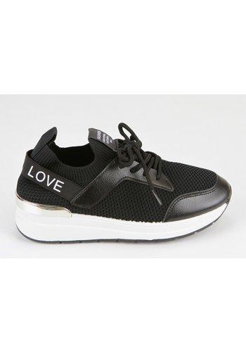 Sneakers Zwart 8539