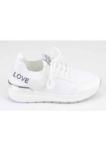 Sneakers Wit 8539