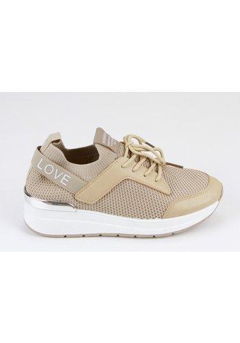 Sneakers Beige 8539