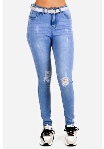 Ella Jeans Blauw