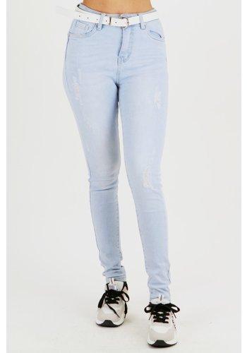 Mia Jeans Blauw