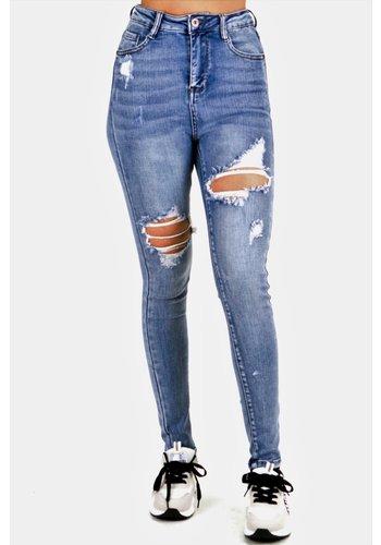 Lena Jeans Blauw