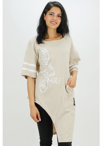 Shirt Oversized Beige
