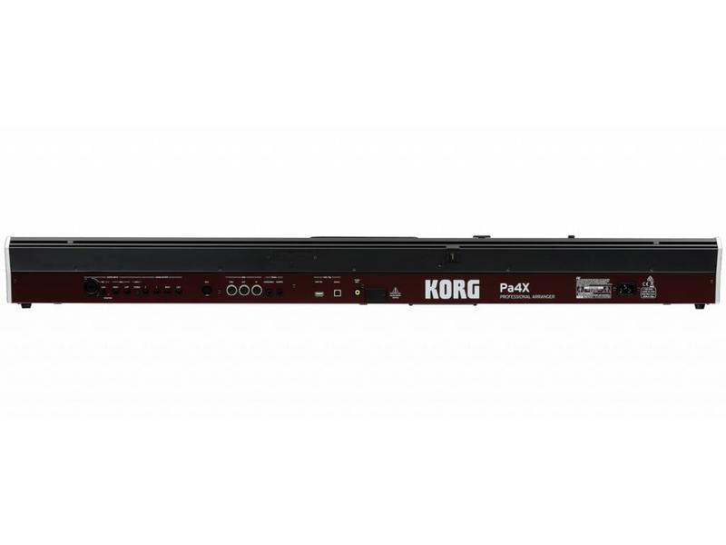 KORG PA4X 61 toetsen Proffesional Arranger Keyboard