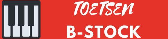 Toetsen B-stock