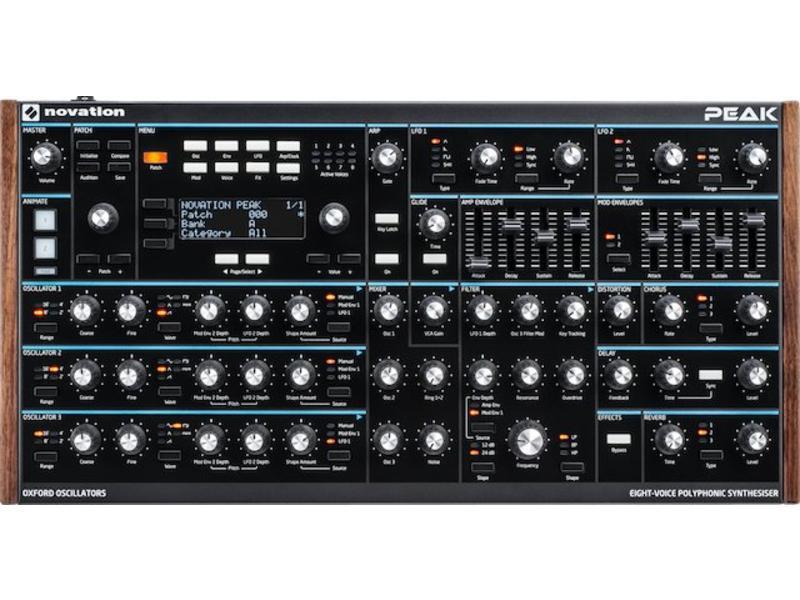 Novation Peak Polyfone Synthesizer