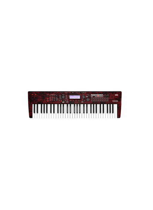 KORG Kross 61 (Red Marble, Limited Edition)