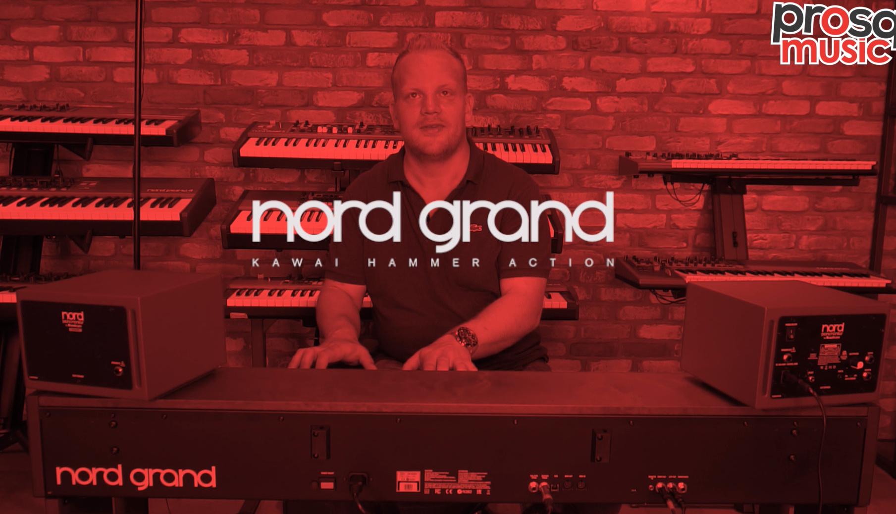 Nord Grand als eerste in Nederland in de showroom