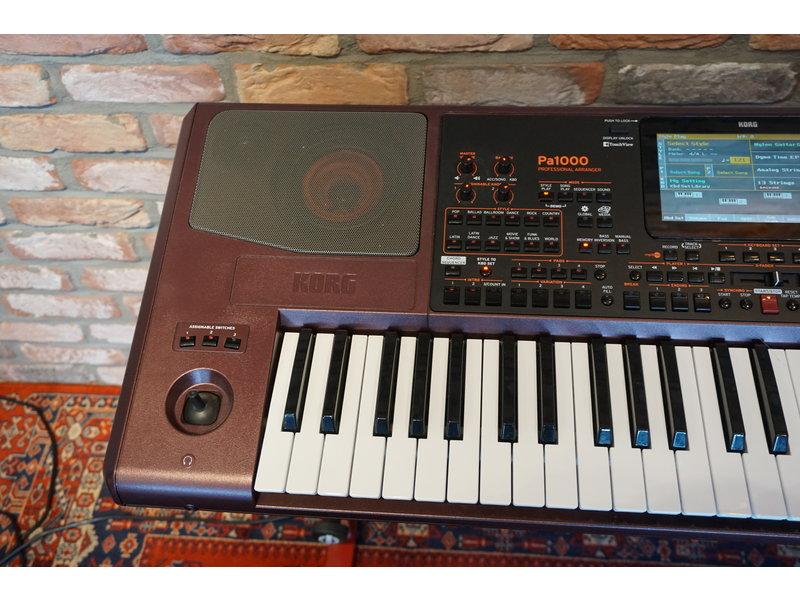KORG PA1000 musikant editie (B-stock)
