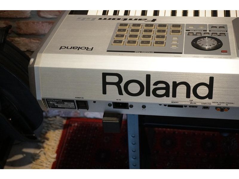 ROLAND Fantom G6 met flightcase (gebruikt)