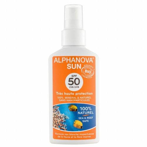 Alphanova Sun Bio Zonnebrandspray 125g - SPF 50