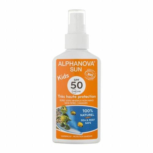 Alphanova Sun Bio Zonnebrandspray Kids 125g - SPF 50