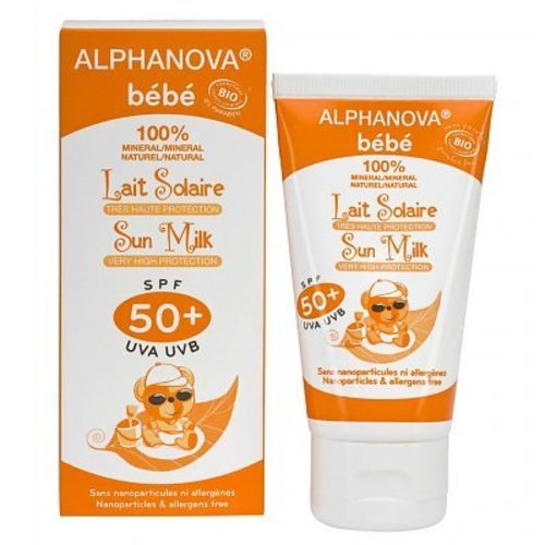Alphanova Sun Organic Baby Sunscreen Milk SPF50 +