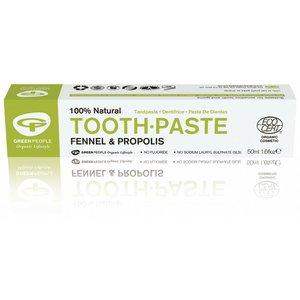 Green People Organic Children Toothpaste Fennel & Propolis Without Fluoride