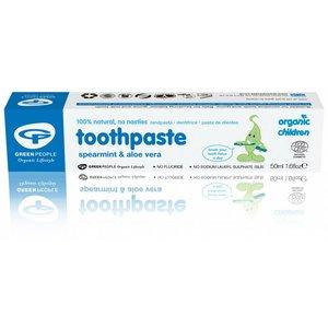 Green People Organic Children Toothpaste Spearmint & Aloe Vera