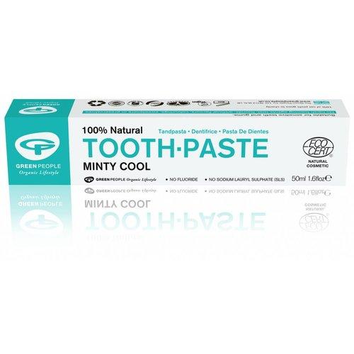 Green People Natuurlijke Tandpasta Minty Cool Zonder Fluoride