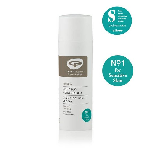 Green People Light Day Moisturiser (Parfumvrij)