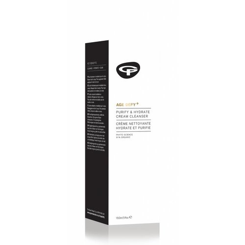 Green People Age Defy+ Purify & Hydrate Cream Cleanser (Anti-Age)