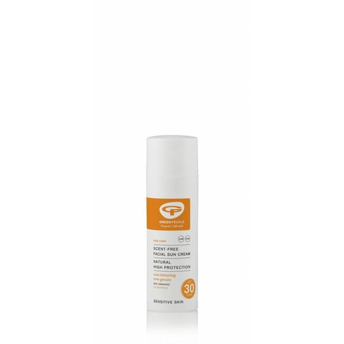 Green People Facial Sunscreen Cream Scent Free