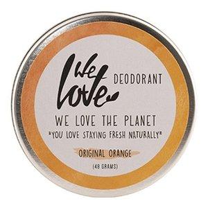 We Love The Planet Deodorant Cream - Original Orange