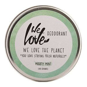 We Love The Planet Deodorant Cream - Mighty Mint