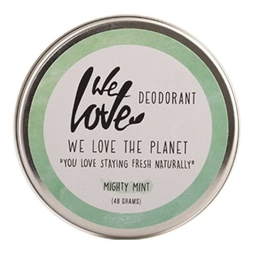 We Love The Planet Deodorant Creme - Mighty Mint