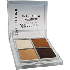 Benecos Natural Eyeshadow Quatro - Coffee and Cream