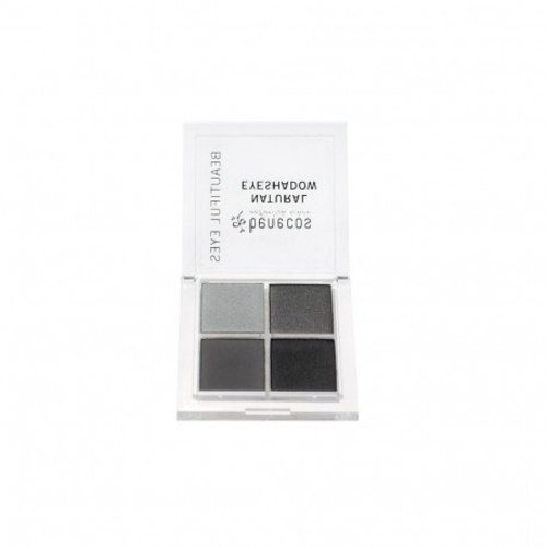 Benecos Natural Quatro Eyeshadow - Smokey Eyes