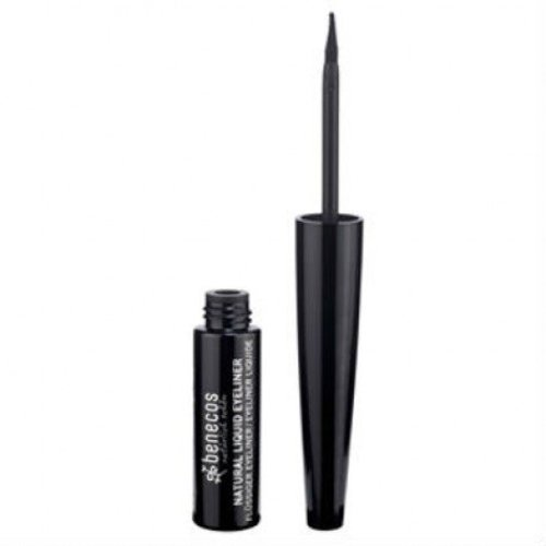 Benecos Natuurlijke Liquid Eyeliner - Black