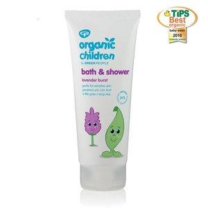 Green People Organic Children Bath & Shower Lavender Burst