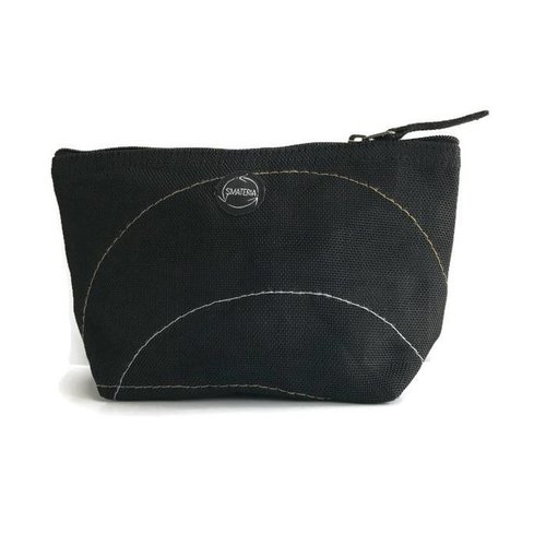 Smateria Recycled Toilet Bag Nick S - Black