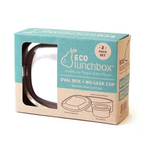 Eco Lunchbox Stainless Steel Lunchbox Oval
