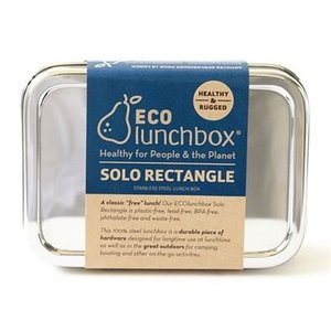 Eco Lunchbox Stainless Steel Lunchbox Solo Rectangle