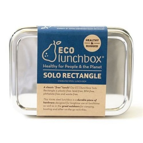 Eco Lunchbox RVS Lunchbox Solo Rectangle