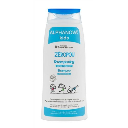 Alphanova Kids Organic Zeropou Shampoo - Anti Lice