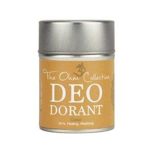 The Ohm Collection Deodorant Powder - Cedar