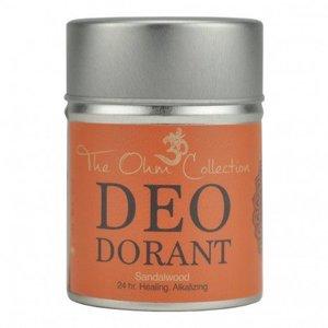 The Ohm Collection Deodorant Powder - Sandalwood
