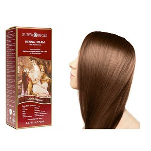 Surya Brasil  Natural Hair Dye Cream - Light Brown