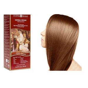 Surya Brasil  Natural Hair Dye Cream - Golden Brown
