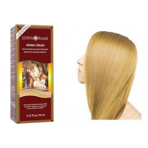 Surya Brasil  Natuurlijke Haarverf Cream - Light Blonde