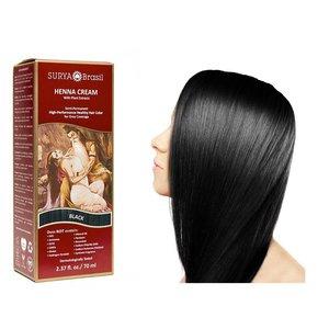Surya Brasil  Natural Hair Dye Cream - Black
