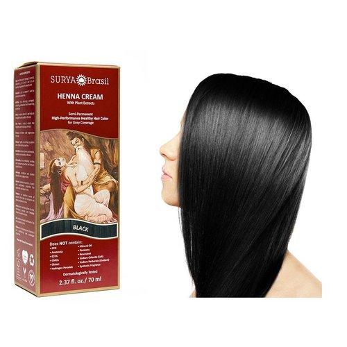 Surya Brasil  Natuurlijke Haarverf Cream - Black