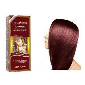 Surya Brasil  Natural Hair Dye Cream - Mahogany